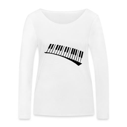 Piano - Camiseta de manga larga ecológica mujer de Stanley & Stella