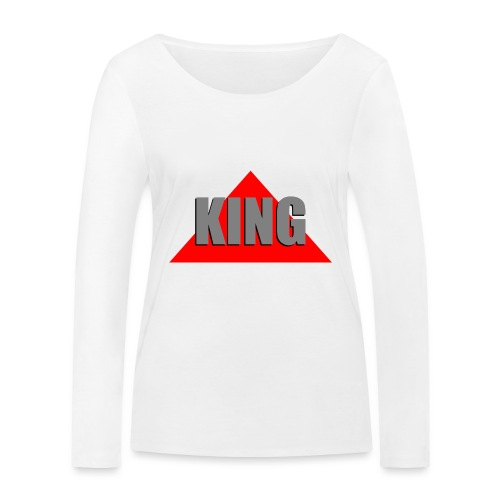 King, by SBDesigns - T-shirt manches longues bio Stanley & Stella Femme