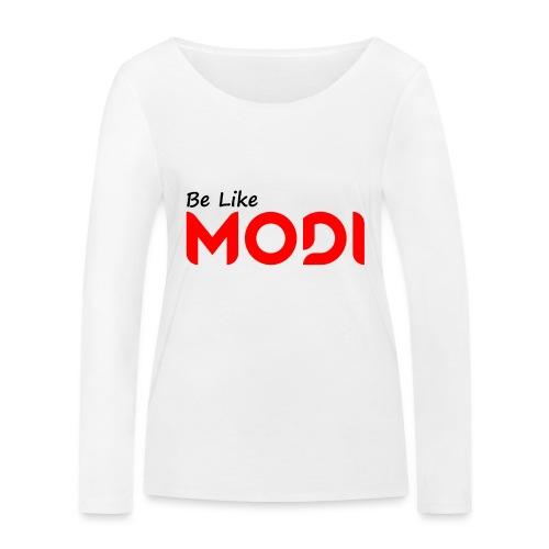 Be Like MoDi - Ekologiczna koszulka damska z długim rękawem Stanley & Stella