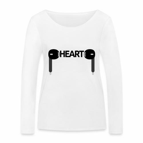 ListenToYourHeart - Ekologiczna koszulka damska z długim rękawem Stanley & Stella