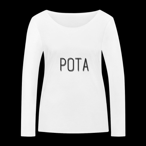pota2 - Maglietta a manica lunga ecologica da donna di Stanley & Stella