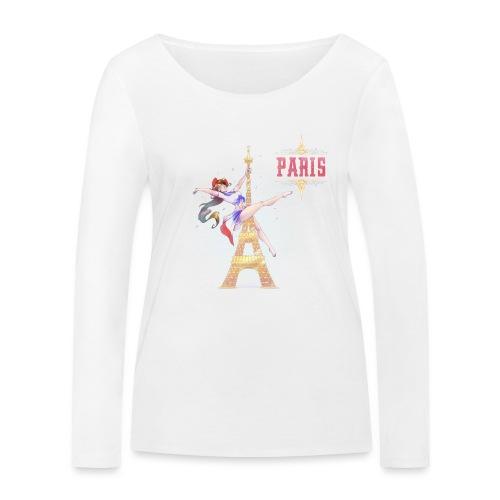 Pole Dance Paris Marianne - T-shirt manches longues bio Stanley & Stella Femme