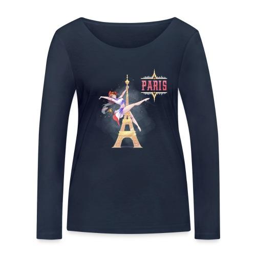 Pole Dance Paris Marianne - Women's Organic Longsleeve Shirt by Stanley & Stella