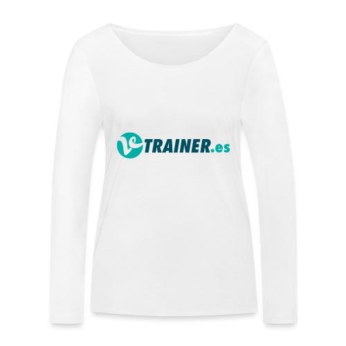 VTRAINER.es - Camiseta de manga larga ecológica mujer de Stanley & Stella