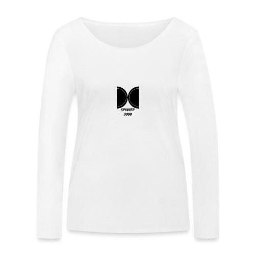Dark logo - T-shirt manches longues bio Stanley & Stella Femme
