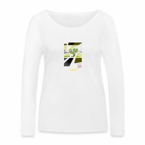3D kaptus - Ekologisk långärmad T-shirt dam från Stanley & Stella