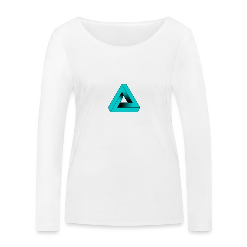 Impossible Triangle - Women's Organic Longsleeve Shirt by Stanley & Stella