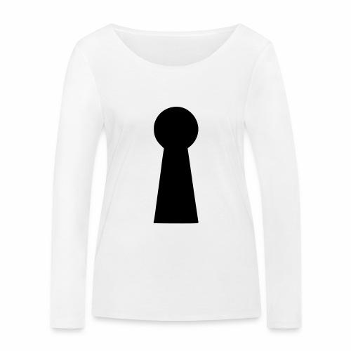 Schlüsselloch - Frauen Bio-Langarmshirt von Stanley & Stella