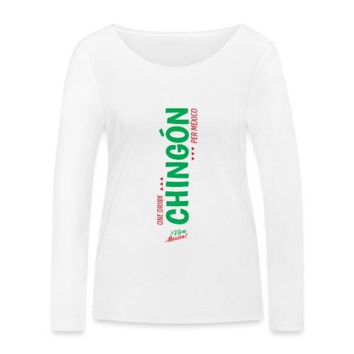One Drink - Camiseta de manga larga ecológica mujer de Stanley & Stella