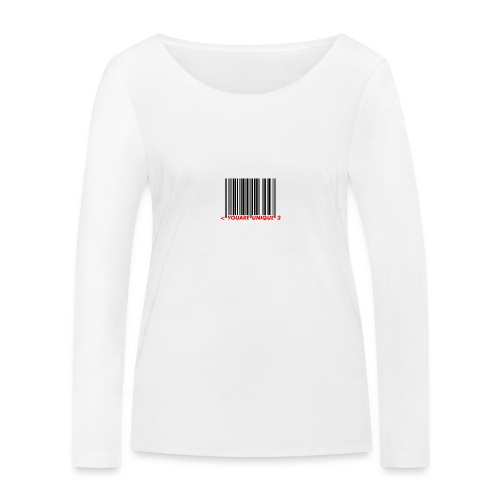 Codebar : You are unique - T-shirt manches longues bio Stanley & Stella Femme