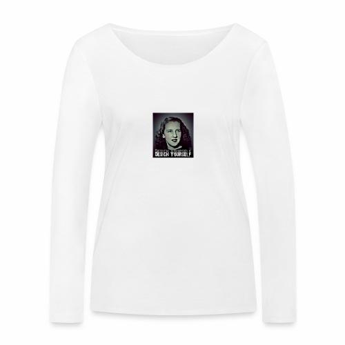 Design Yourself - Frauen Bio-Langarmshirt von Stanley & Stella