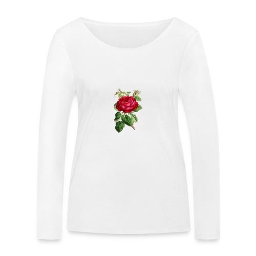Fin ros - Ekologisk långärmad T-shirt dam från Stanley & Stella