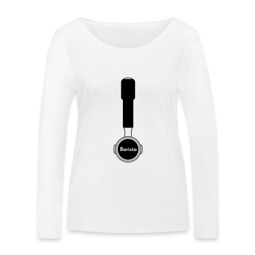 Siebträger Barista V - Frauen Bio-Langarmshirt von Stanley & Stella