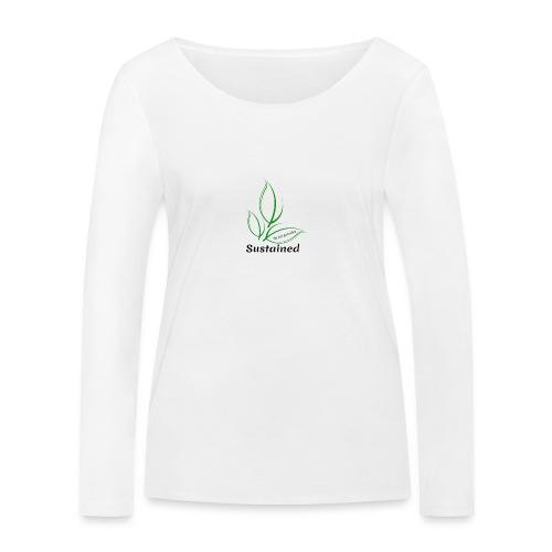 Sustained Sweatshirt - Økologisk Stanley & Stella langærmet T-shirt til damer
