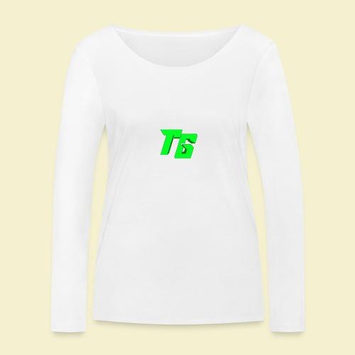 TristanGames logo merchandise - Vrouwen bio shirt met lange mouwen van Stanley & Stella