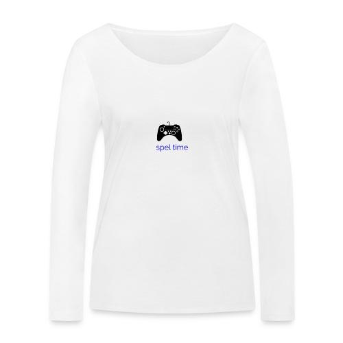 spel time - Ekologisk långärmad T-shirt dam från Stanley & Stella