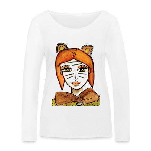 Ger fan aldrig upp - Ekologisk långärmad T-shirt dam från Stanley & Stella