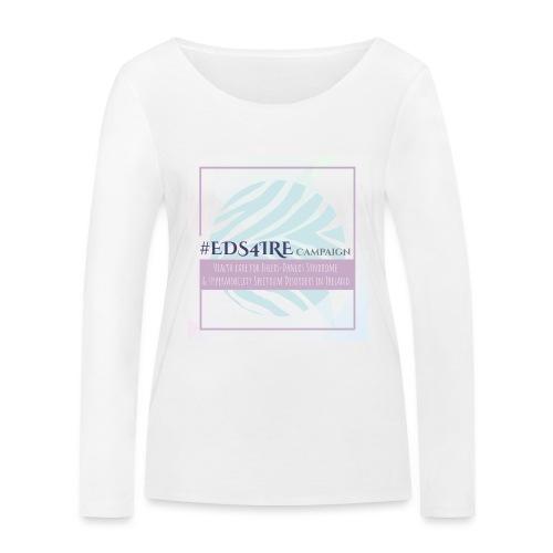#EDS4IRE 2 - Women's Organic Longsleeve Shirt by Stanley & Stella