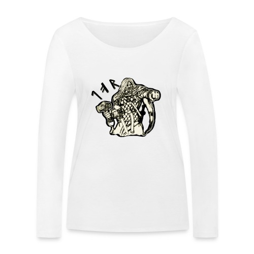 Tor och hammaren - Ekologisk långärmad T-shirt dam från Stanley & Stella