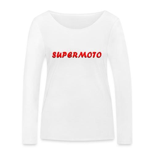 SupermotoLuvan - Ekologisk långärmad T-shirt dam från Stanley & Stella