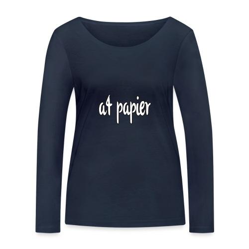 A4Papier - Vrouwen bio shirt met lange mouwen van Stanley & Stella