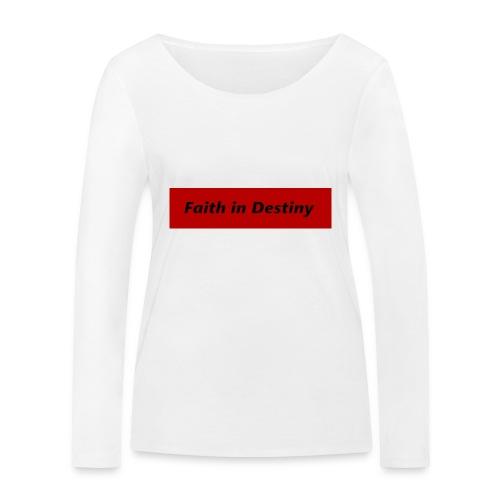 La fe en el destino primera colección - Camiseta de manga larga ecológica mujer de Stanley & Stella