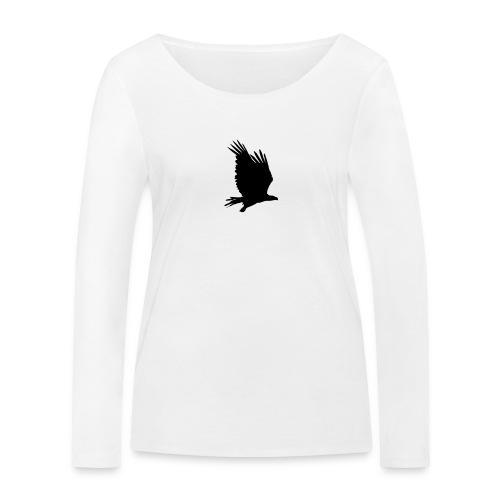 Tirolerbergluft pur (großer Adler) - Frauen Bio-Langarmshirt von Stanley & Stella