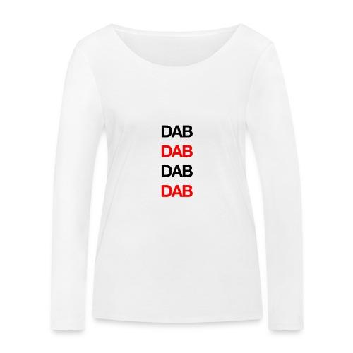 Dab - Women's Organic Longsleeve Shirt by Stanley & Stella