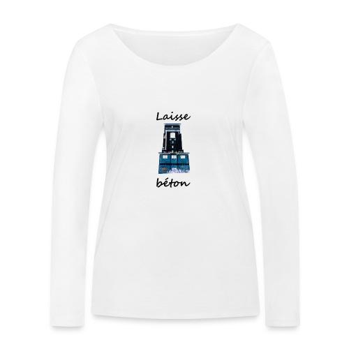 laisse_b--ton-png - T-shirt manches longues bio Stanley & Stella Femme