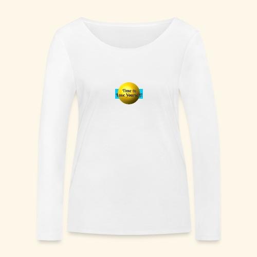 Time to Love Yourself - Frauen Bio-Langarmshirt von Stanley & Stella