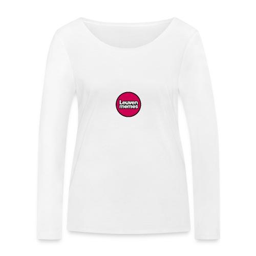 Logo LeuvenMemes - T-shirt manches longues bio Stanley & Stella Femme