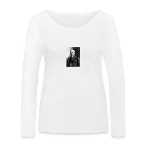 Rockerfeller - Økologisk Stanley & Stella langærmet T-shirt til damer