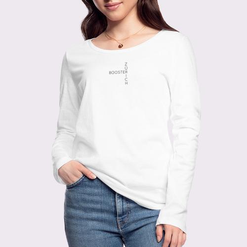 Zürich booster - Women's Organic Longsleeve Shirt by Stanley & Stella