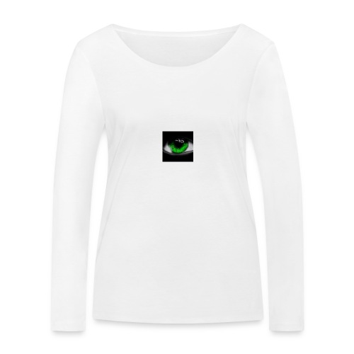 Green eye - Women's Organic Longsleeve Shirt by Stanley & Stella