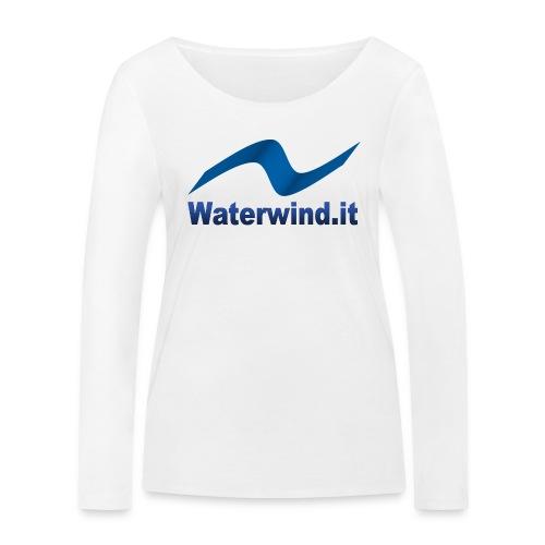 logo waterwindpuntoit no sfondo png - Women's Organic Longsleeve Shirt by Stanley & Stella