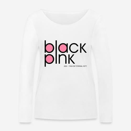 schwarzer rosa Modestil - Frauen Bio-Langarmshirt von Stanley & Stella