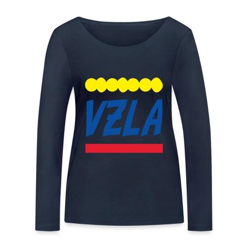 vzla 01 - Camiseta de manga larga ecológica mujer de Stanley & Stella