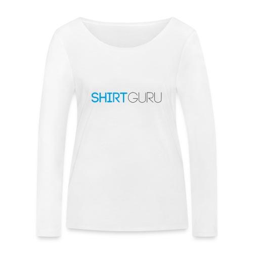 SHIRTGURU - Frauen Bio-Langarmshirt von Stanley & Stella