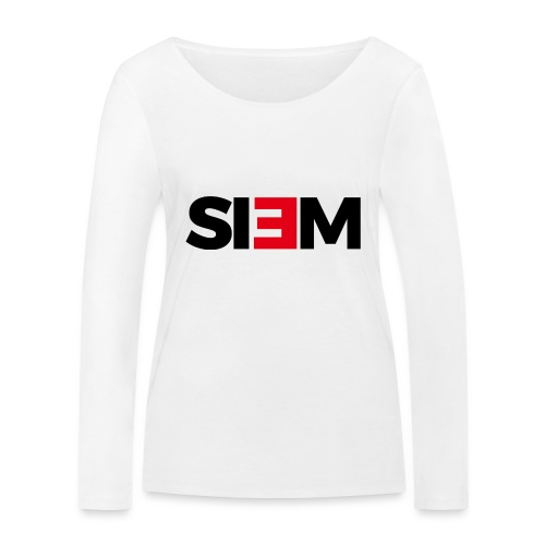 siem_zwart - Vrouwen bio shirt met lange mouwen van Stanley & Stella