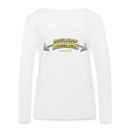 mouilleron muscu logo pour tee shirt 311 - T-shirt manches longues bio Stanley & Stella Femme
