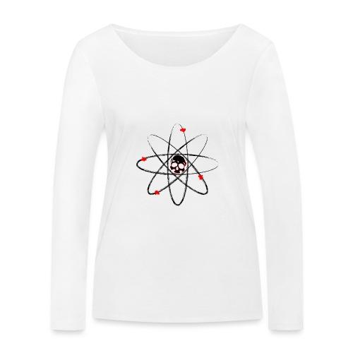 Atom Skull - Ekologisk långärmad T-shirt dam från Stanley & Stella