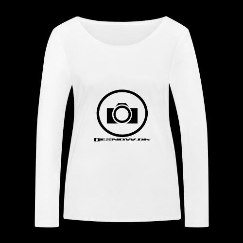 sort2 png - Økologisk Stanley & Stella langærmet T-shirt til damer
