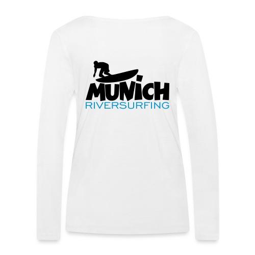 Munich Riversurfing München Surfer - Frauen Bio-Langarmshirt von Stanley & Stella