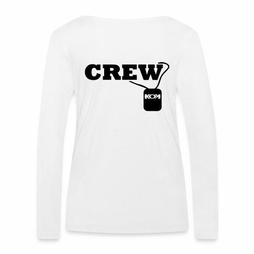 KON - Crew - Frauen Bio-Langarmshirt von Stanley & Stella