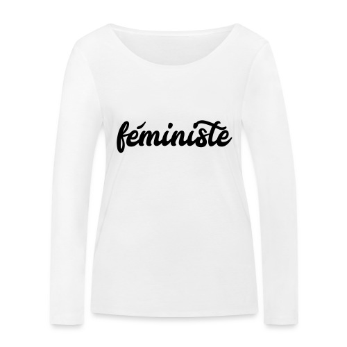 féministe - T-shirt manches longues bio Stanley & Stella Femme