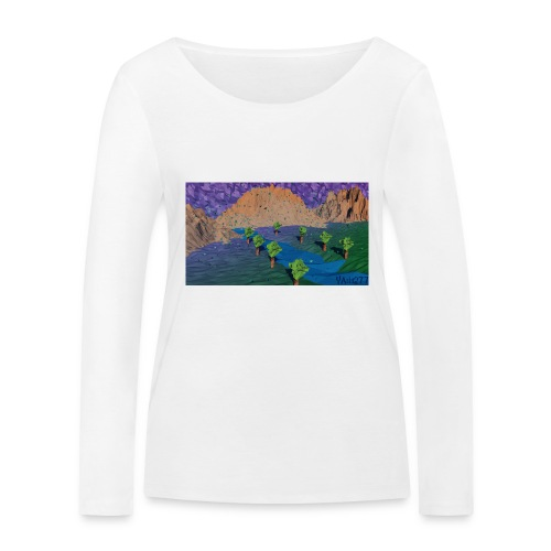 Silent river - Women's Organic Longsleeve Shirt by Stanley & Stella