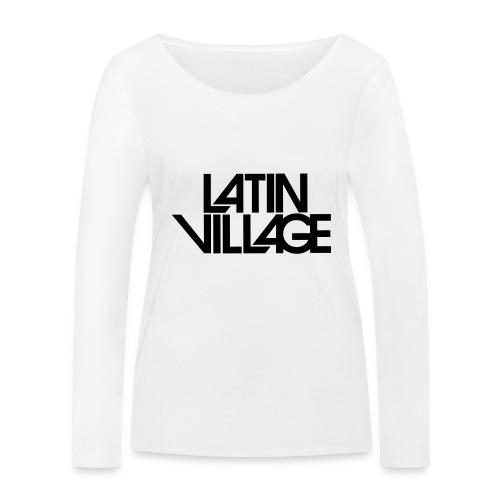 Logo Latin Village 30 - Vrouwen bio shirt met lange mouwen van Stanley & Stella