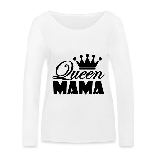 queenmama - Frauen Bio-Langarmshirt von Stanley & Stella