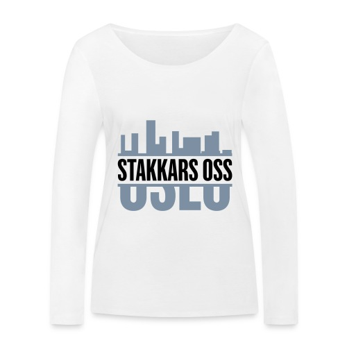 stakkars oss logo 2 ny - Økologisk langermet T-skjorte for kvinner fra Stanley & Stella