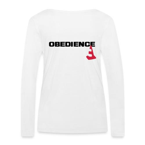 Obedience mit Pylone - Frauen Bio-Langarmshirt von Stanley & Stella